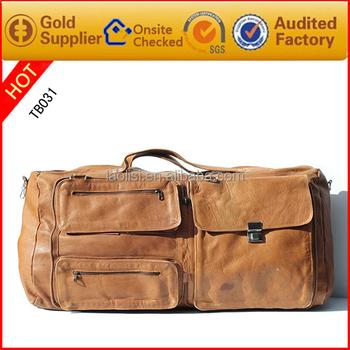 2017 Best Ing Men Duffle Bag Sport Camel Travel Made Of Vegan Leather