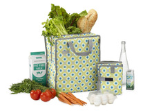 Freezable Grocery Shopping Bag, geometrica