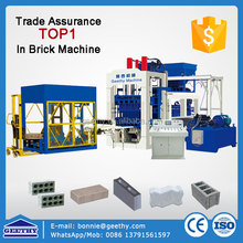 machine china manufacturer QT10-15 hollow block manufacturing concrete solid blocks making machine