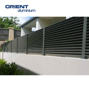 China Supplier Horizontal Aluminum Slat Fencing