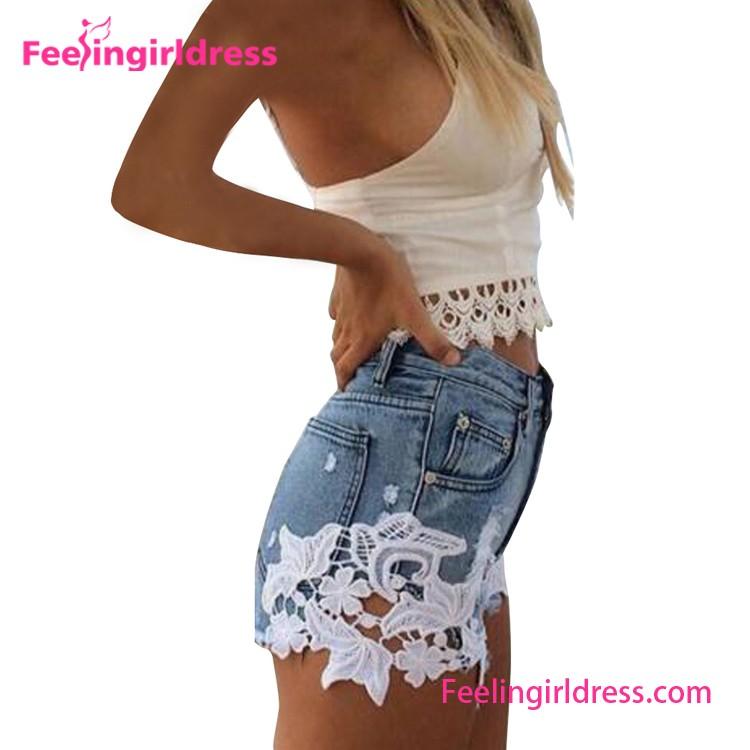 Sexy Denim Mini Shorts Women Tight Jeans Short Skin Tight Shorts ...
