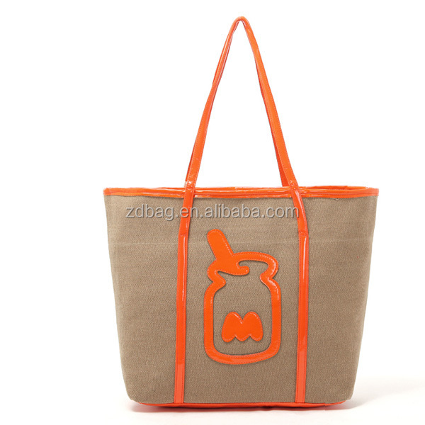 100% Recycled Cotton Tote Bag,Rubber Tote Bags , Organic Cotton Bag