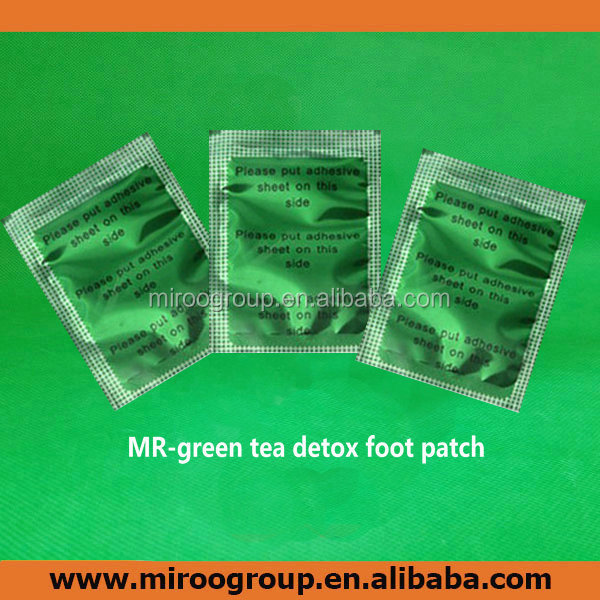 Jun gong relax foot patch with adhesive/sticker/plaster, green tea detox foot patch, green tea detox foot patches,CE certificate