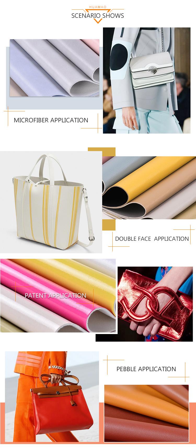 Sıcak satış pürüzsüz yumuşak el balmumu 1.2mm suni deri çanta için deri spor iş çantaları