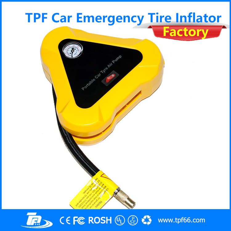TPF 2016 cheap emergency portable home car air compressor tire inflator