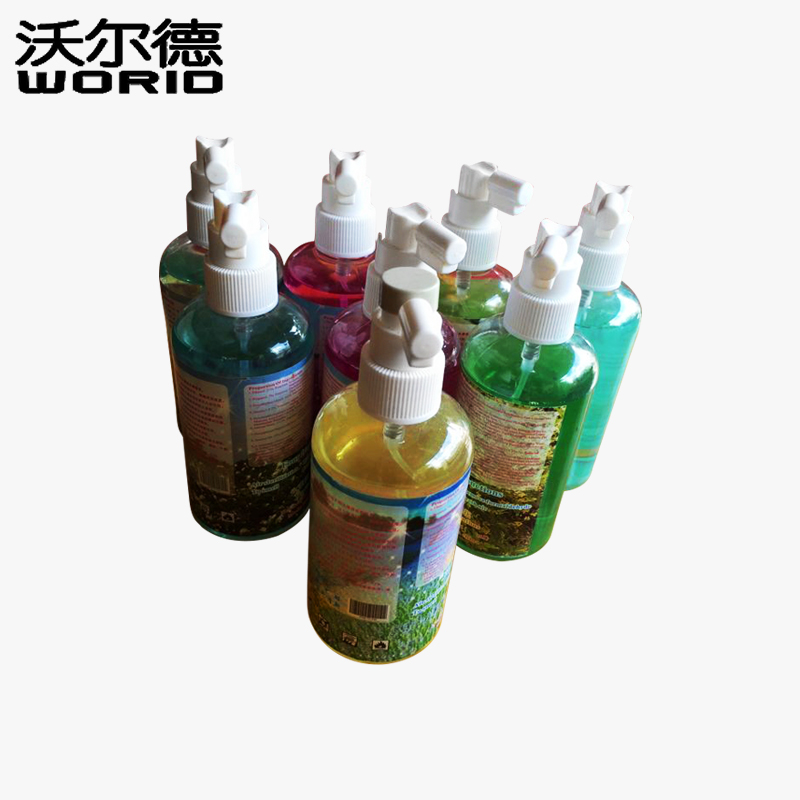 300ml X-0303 PE Bottle Liquid Spray Holder Bottle Sanitizer Car Scent Purifier Freshener Perfume Aerosol Fragrance