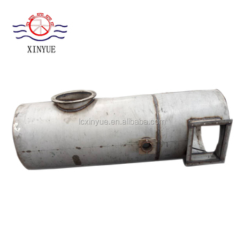 Coal fired boiler dust cleaner cast iron weights