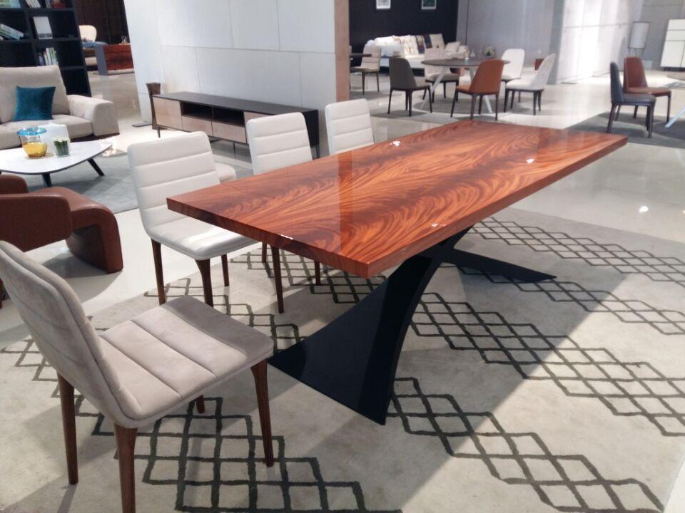 2015 Modernes Design Esszimmer Möbel Aus Mahagoni Holz Esstisch