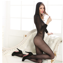 <span class=keywords><strong>Euro</strong></span> delle Donne manica lunga hat full body calza corpo Bodystocking