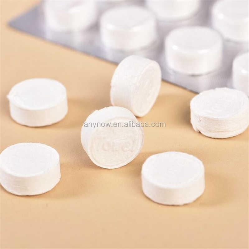 Trip Portable Non-disposable Cotton Tablet Compress Magic