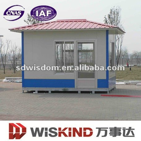 moveable prefabricated news stall