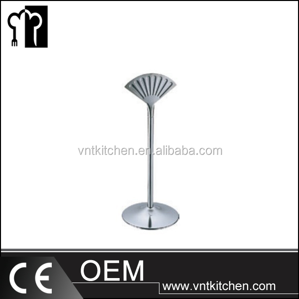 VNTD188 Stainless Steel Fan Shape Table Number Card Holder