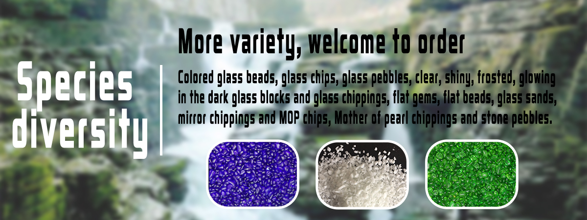 Professional Natural Glass Rocks With CE Certificate