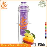 28oz tritan portable fda grade sports water bottle with carbon filter