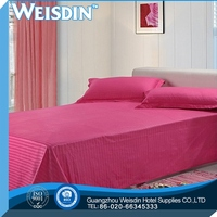 full bed made in China satin fabric polyester knitted quilted mattress ticking fabric