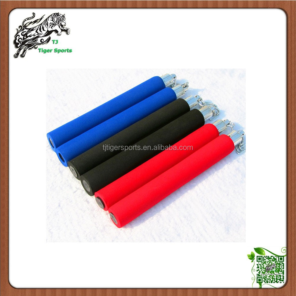 high quality nunchakus with sponge handle