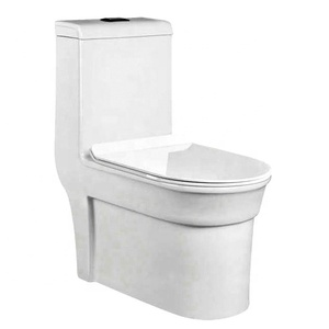 High quality european market standard size tall bathroom ceramic toilet with s trap