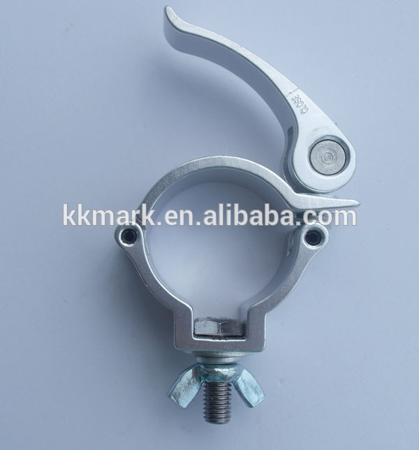 Pipe clamps quick connect clamp locking