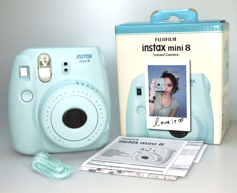 Fujifilm Instax Fujifilm Camera Mini 8 Instant Camera,Pink Yellow ...
