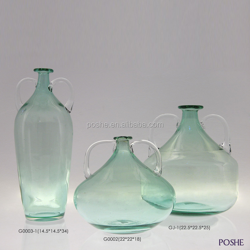 2016 China Popular wholesale different types of glass vases
