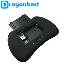 2017 Dragonworth New Brand H9 air mouse for Android TV BT ir remote control with high quality Wireless controll