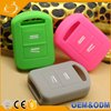 Eco-friendly Silicone Remote Car Holder Key Shell Fit For OPEL VAUXHALL Corsa Agila Meriva
