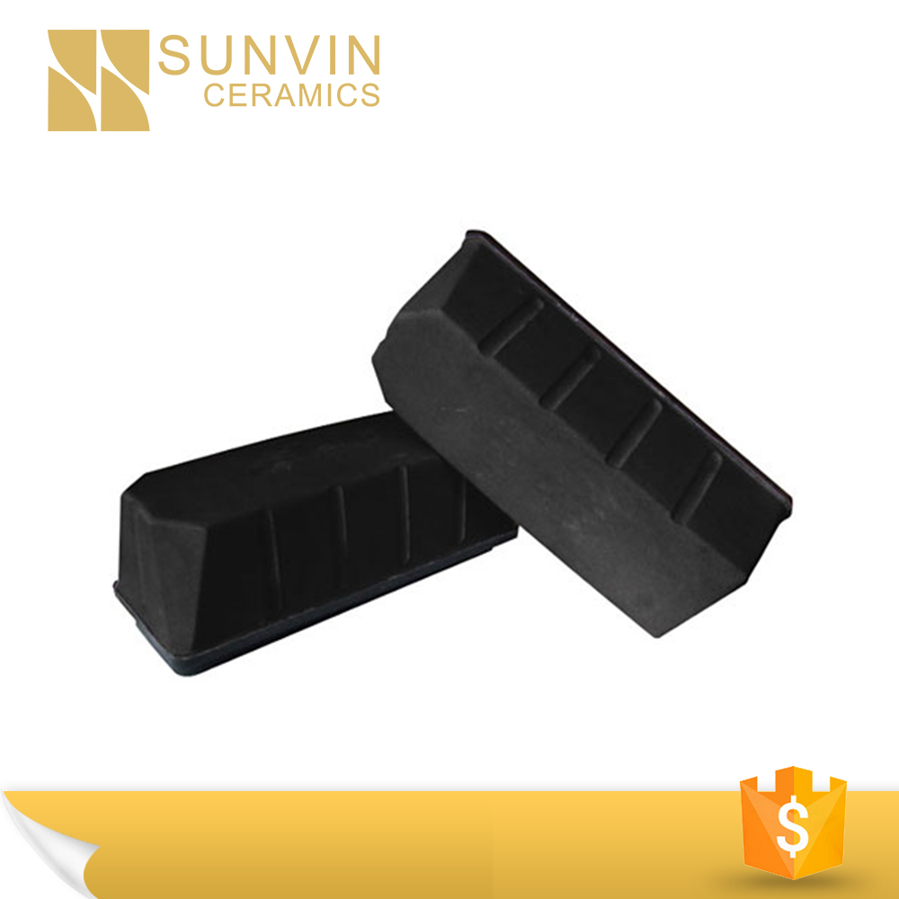 polished granite polishing black brick grinding block
