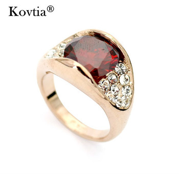 Whole Simple Gold Ruby Ring Design For Women Wedding Rings