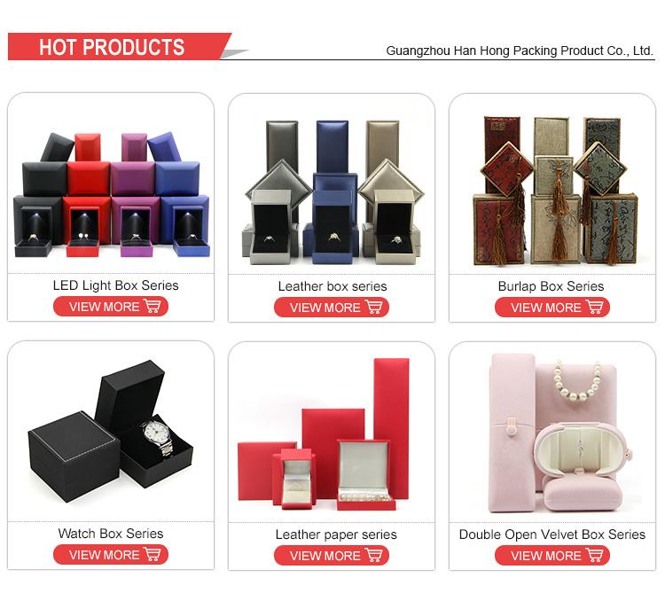 Creativo unico custom design personalizzato di monili regalo di nozze rosa fower anello box