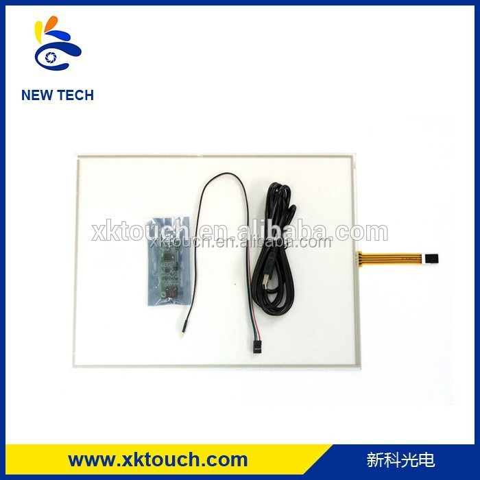 long life span 4 wire resistive touch screen uesd small lcd computer monitor