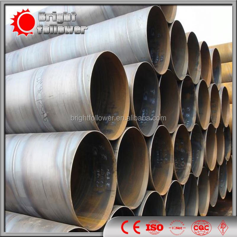 SAWH Welded Pipe/SSAW Steel Pipe/ aluminized steel pipe