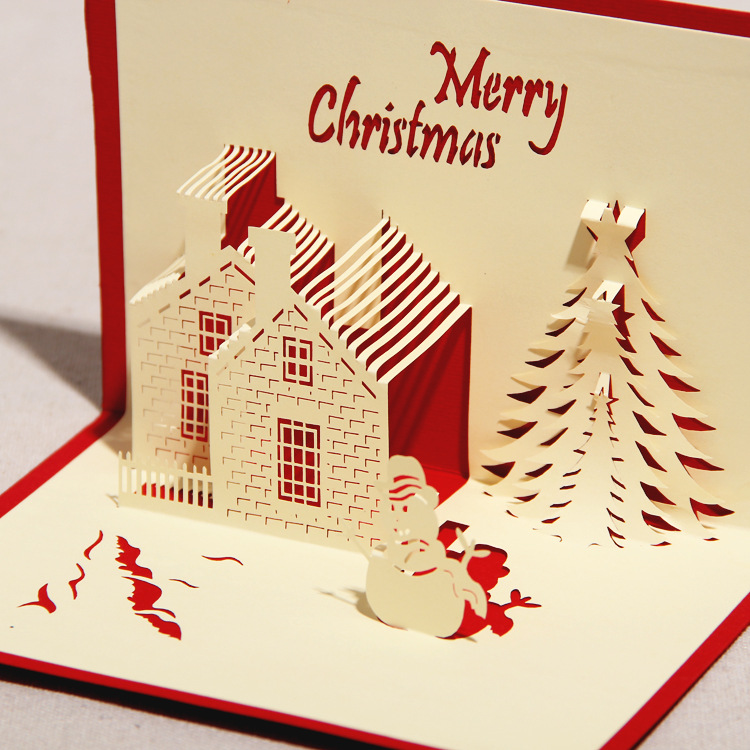 China supplier custom decorative pop up unique 3d christmas greeting china supplier custom decorative pop up unique 3d christmas greeting card buy 3d christmas greeting cardchiristmas cardsunique christmas cards product m4hsunfo