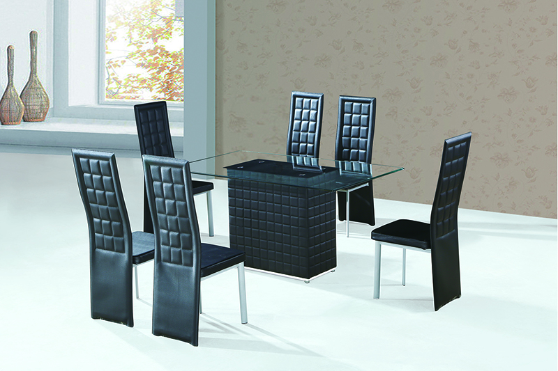 China Temporary Dining Room Furniture India Design Low Price Gl Table For Product On