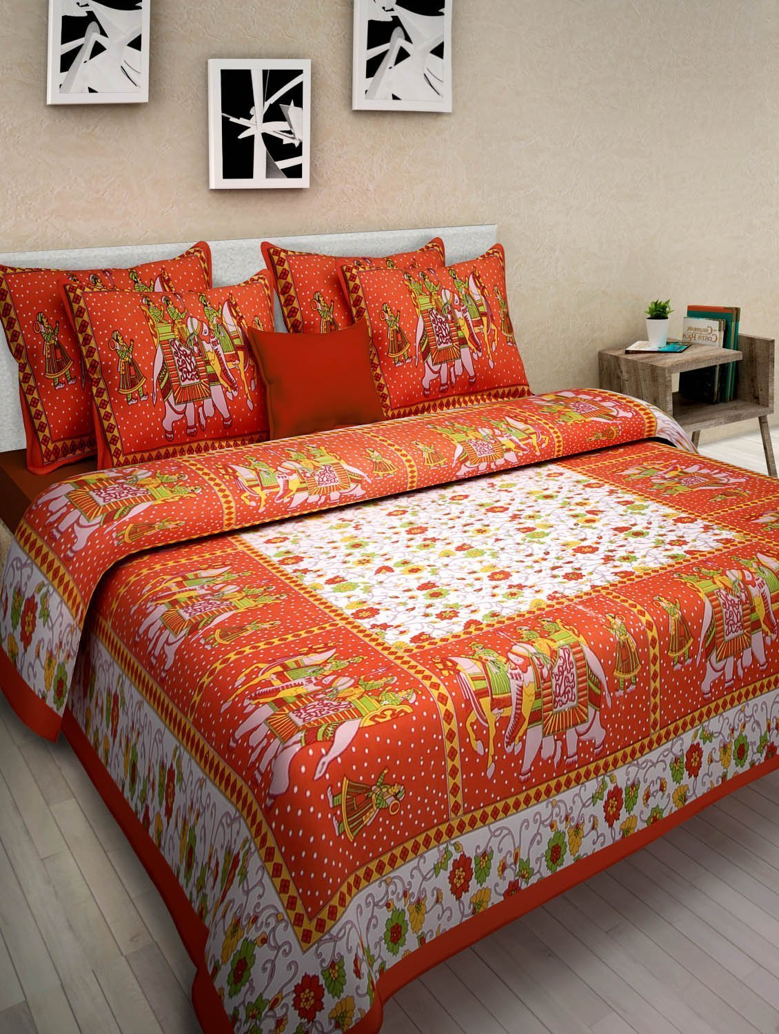 Cheap D Print Bed Sheets Find D Print Bed Sheets Deals On Line At - Orange print sheets