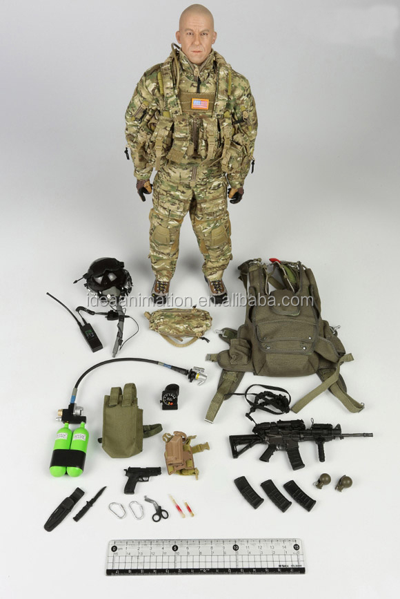 wholesale custom made plastic movable military soldier gi joe action figure toys manufacturer factory