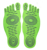 Fashion Naked Feet Stick-on Soles Sticky Feet Pads stick on Foot