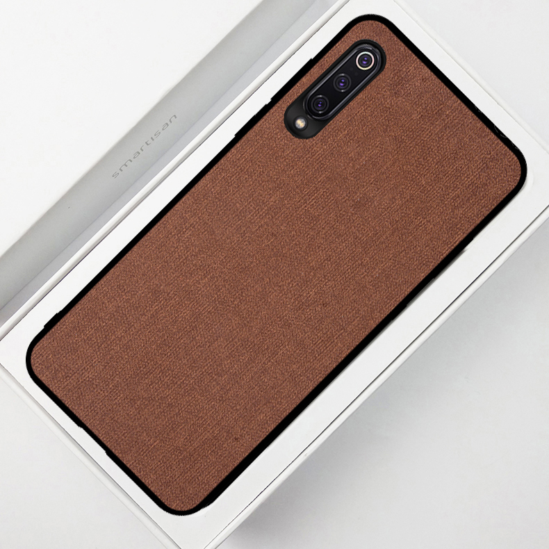Fashion Cloth Pattern Retro Fabric Leather Phone Cases for Sonny Xperia 1