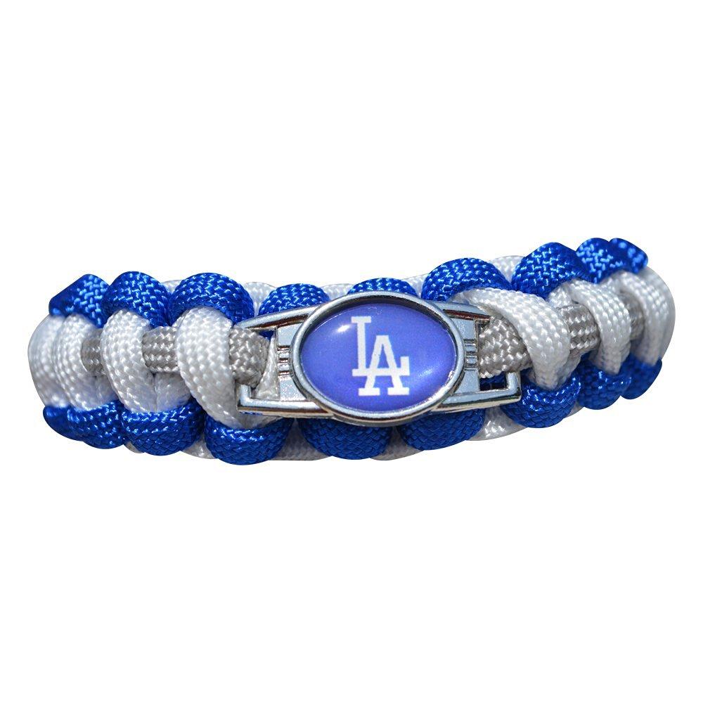 Get Quotations La Dodgers Paracord Bracelet Jewelry Baseball Fan Gift