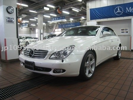 2007 Mercedes Benz CLS350/Sedan/RHD/20000km/Gas/Petrol/White Used car