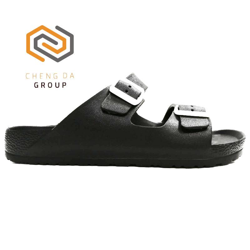 f4c9a4e4e4ad22 China Wholesale Custom Logo Men Naked Rubber Pu Sole Beach Sandals ...