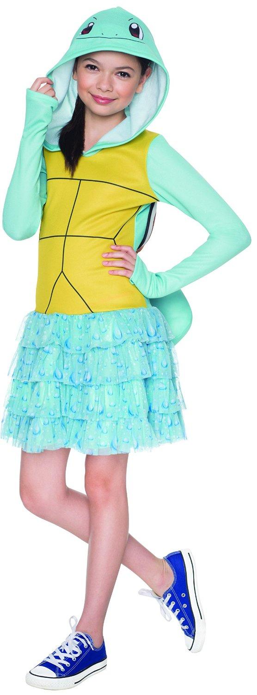 Rubie's Costume Pokemon Squirtle Child Hooded Costume Dress Costume, Medium