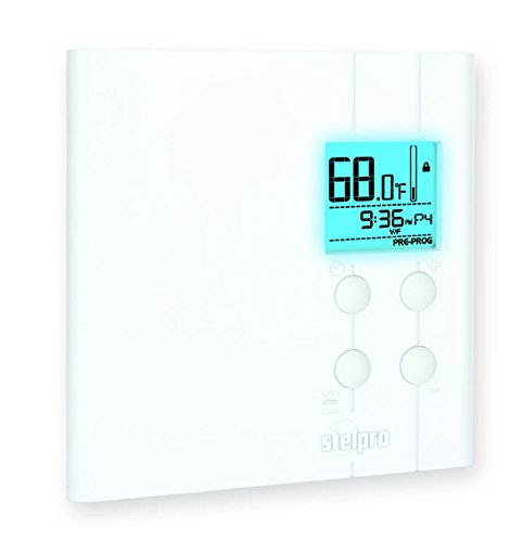 Heating and Cooling Double-Throw 40-90 Degree F Temperature Range Johnson Controls T26S-18C Line Voltage Wall Thermostat Single-Pole