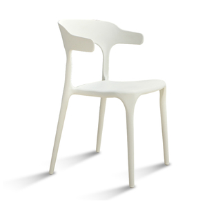 JOHOO wholesale stackable leisure dining chair plastic chair