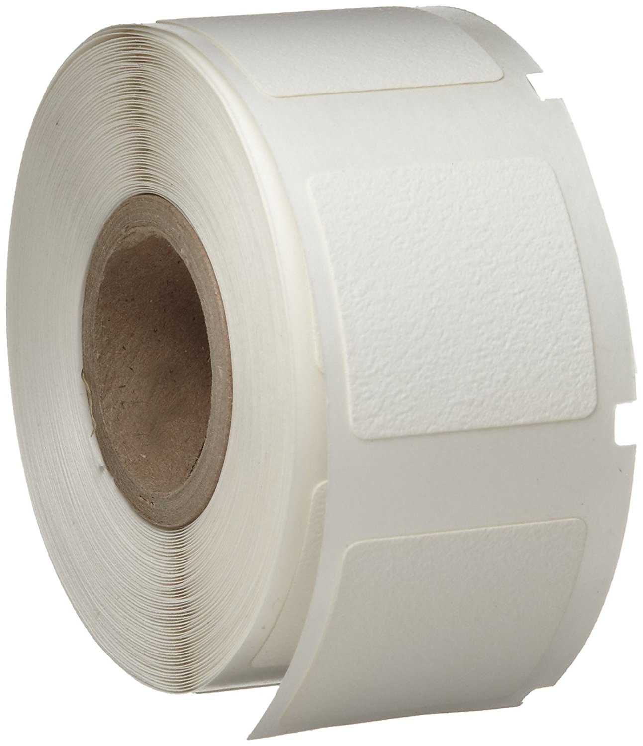 "Brady WML-711-502 I.D. PRO Plus LS2000 And BradyMarker 1"" Height, 1"" Width, B-502 Repositionable Vinyl Cloth White Color XC Plus Printer Labels (250 Per Roll)"