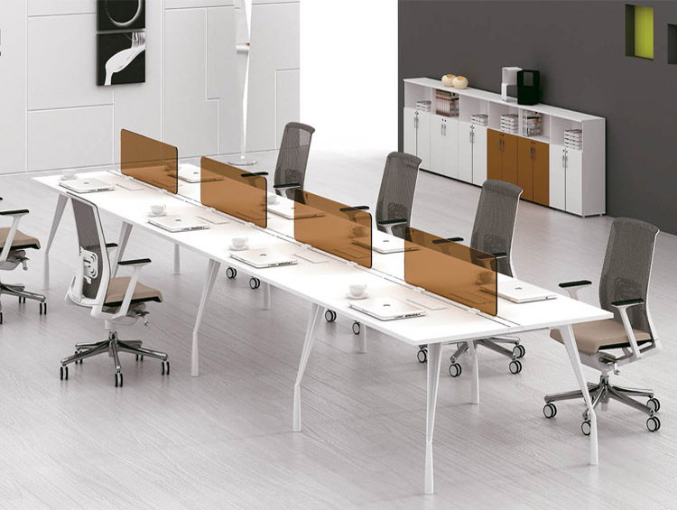 Sfs G Series Office Furniture 4 Person Open Workstation