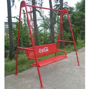 Outdoor Metal Patio Swing Bench Chairs