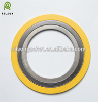 Spiral wound gasket with Flexible Graphite Filler (ASME B16.20)