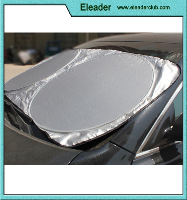Front Rear Windshield Car Window Foldable Sun Shade Shield Cover Visor UV Block