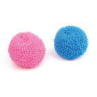 Microfiber colorful kitchen cleaning scourer ball