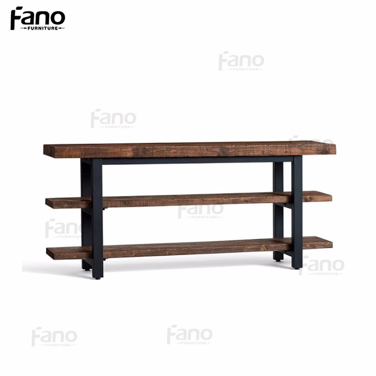 965f932e3ca Old Style Furniture Griffin Reclaimed Wood Media Tv Console Table ...